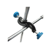 HAIJU LAB Ring Stand/ Lab Clamp/ Lab Support Retort Stand Set